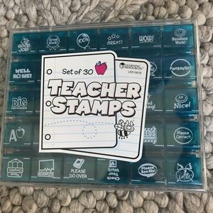 Learning Resources - set of 30 stamps